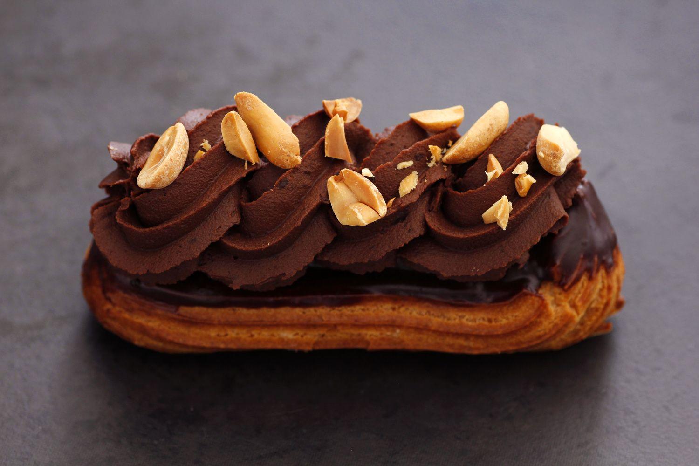 אקלר שוקולד וחמאת בוטנים