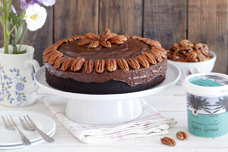עוגת שוקולד ותמרים בריאותית