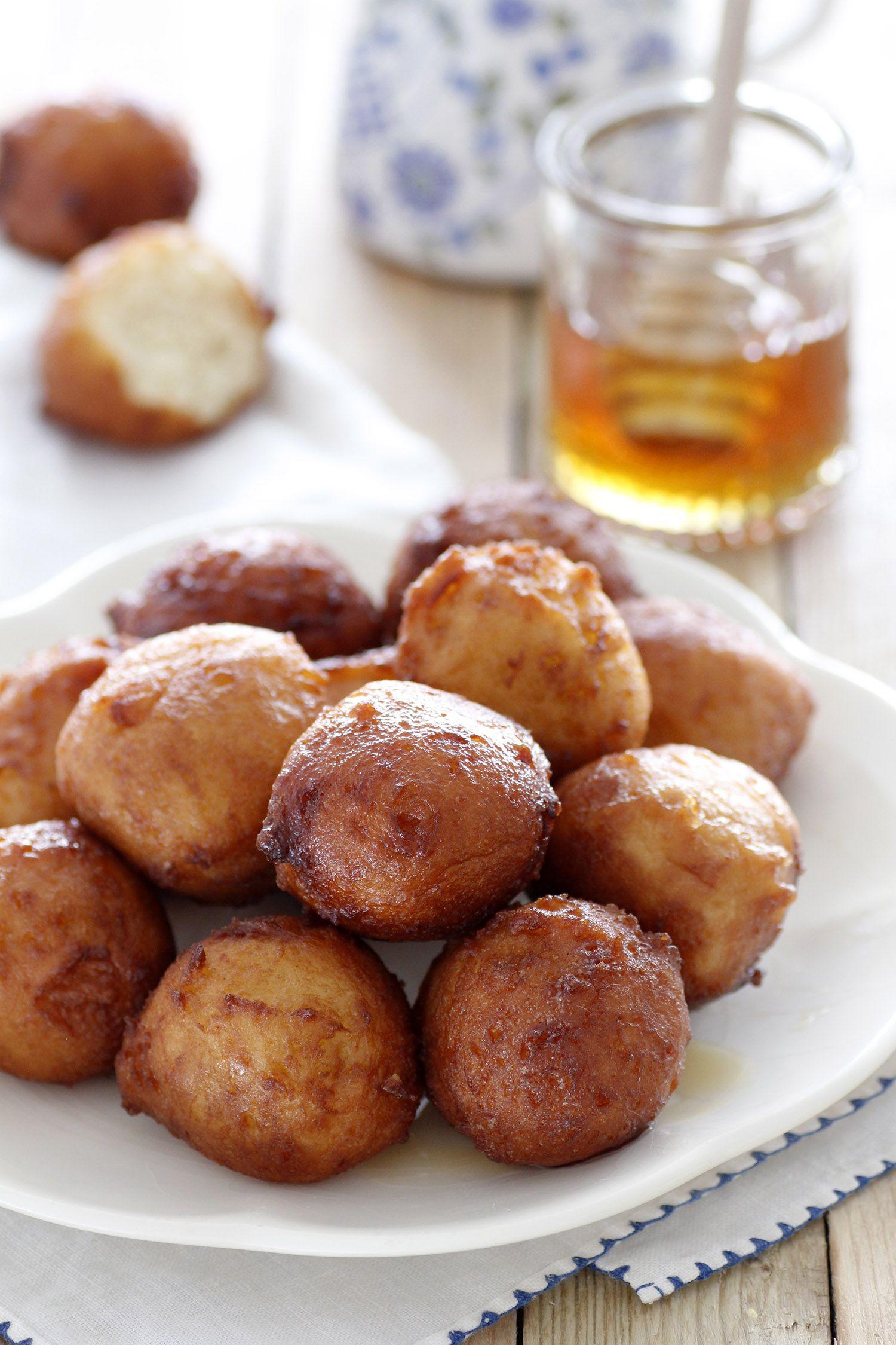 Lukumades - Greek Doughnuts
