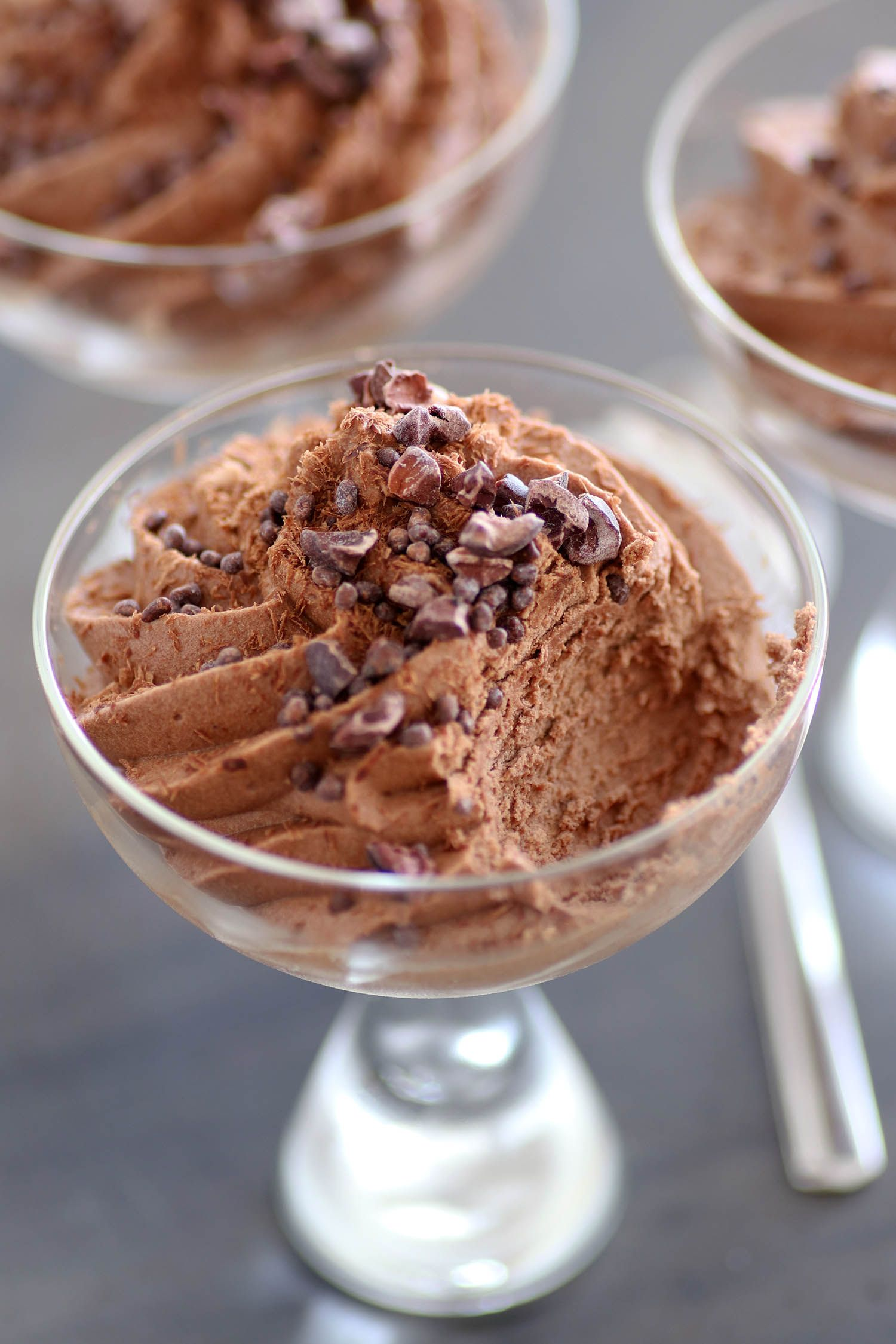 The Easiest Chocolate Mousse in the World