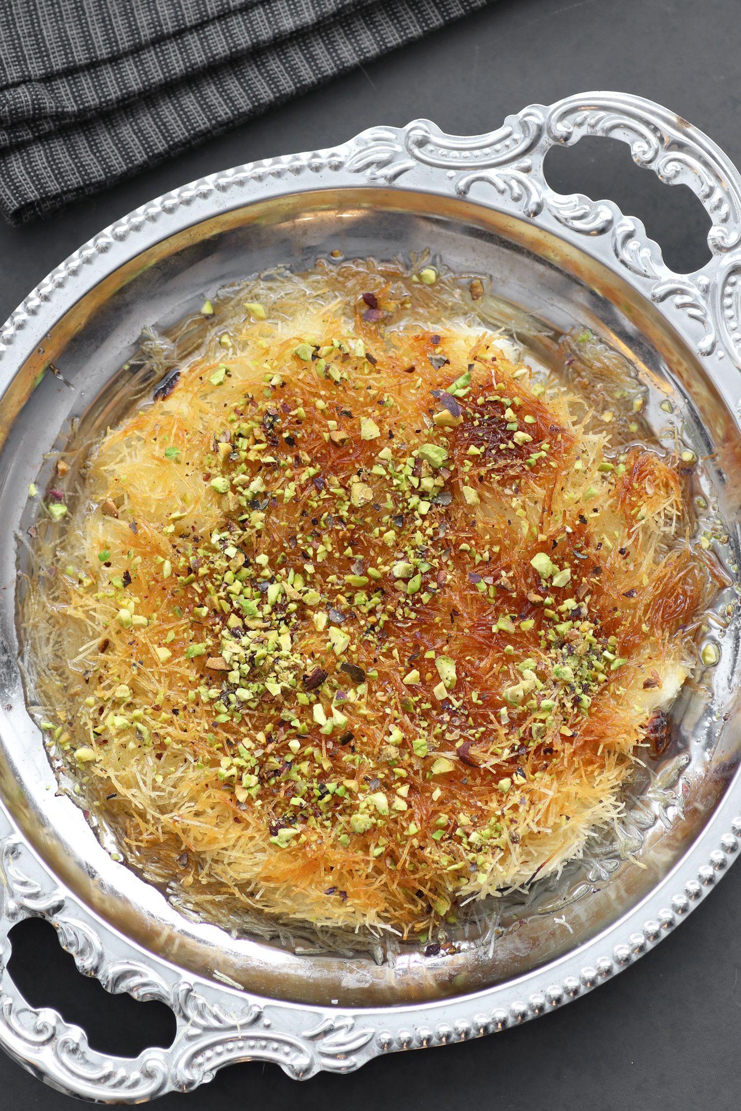 Homemade Kanafeh