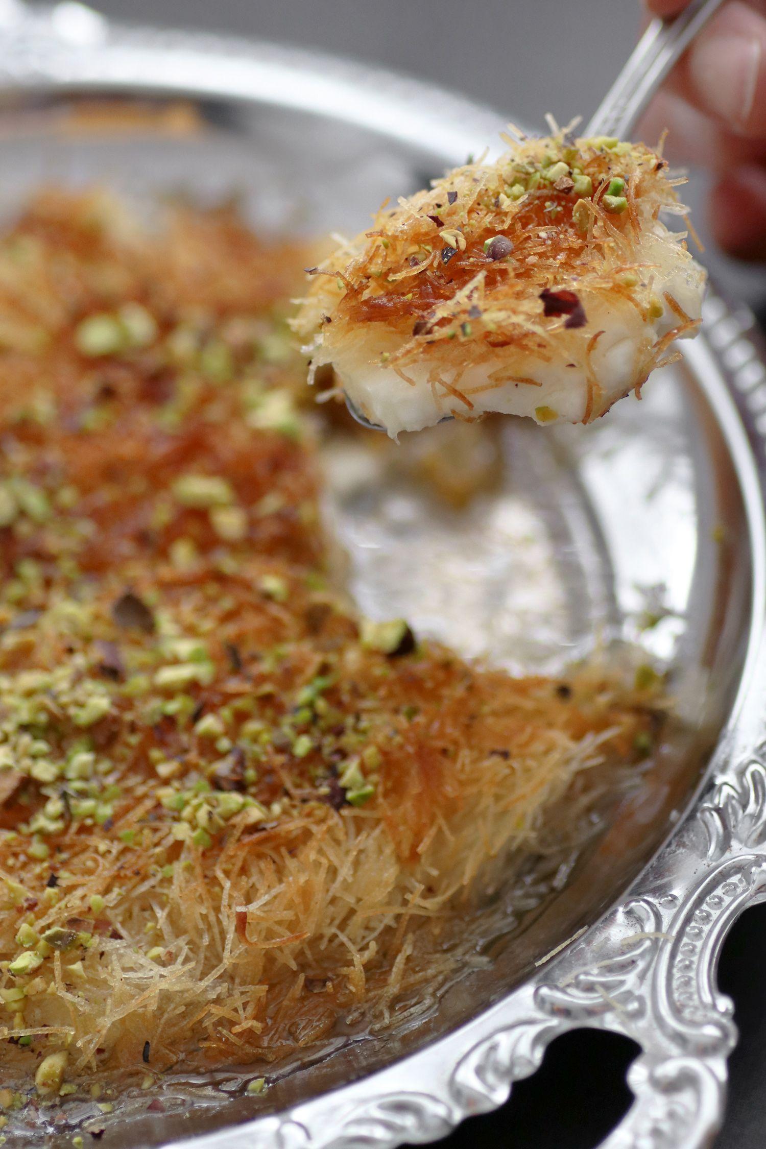 כנאפה תוצרת בית | צילום: נטלי לוין