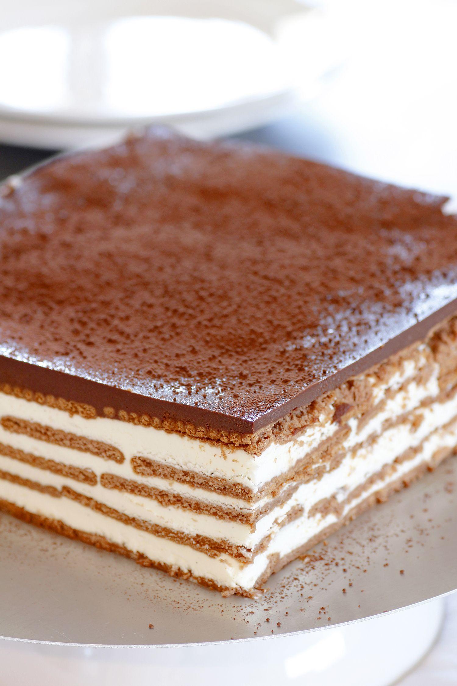 Tiramisu Icebox Cake