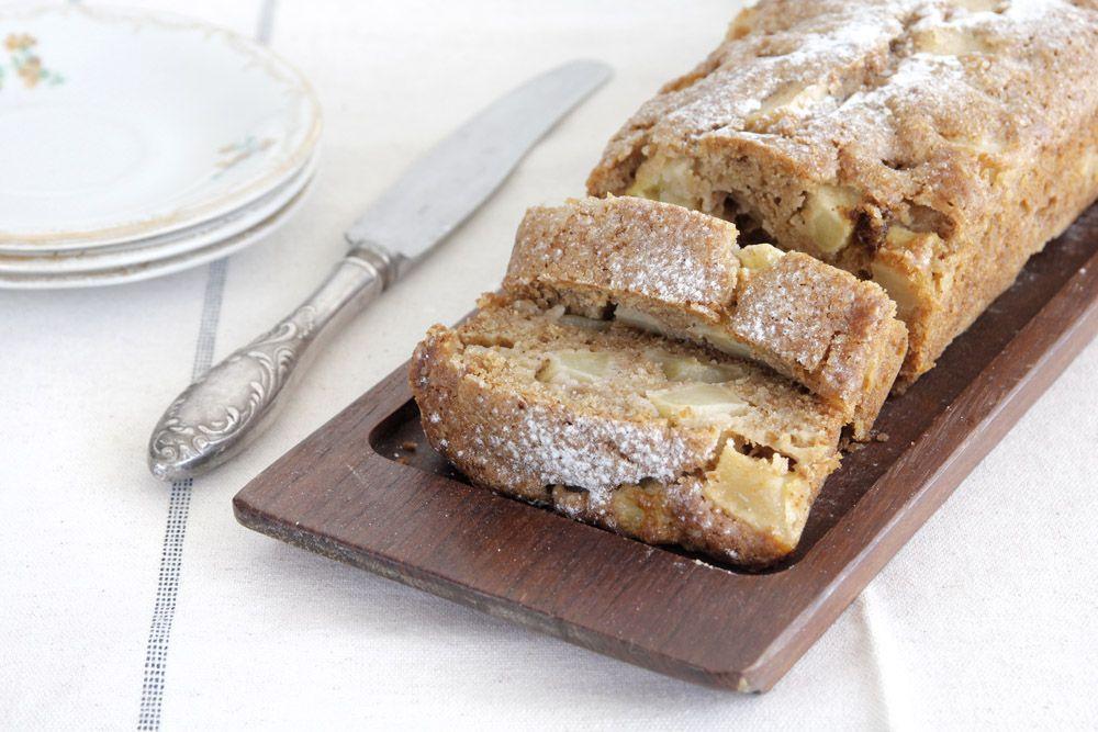 עוגת תפוחים, קינמון ואגוזים