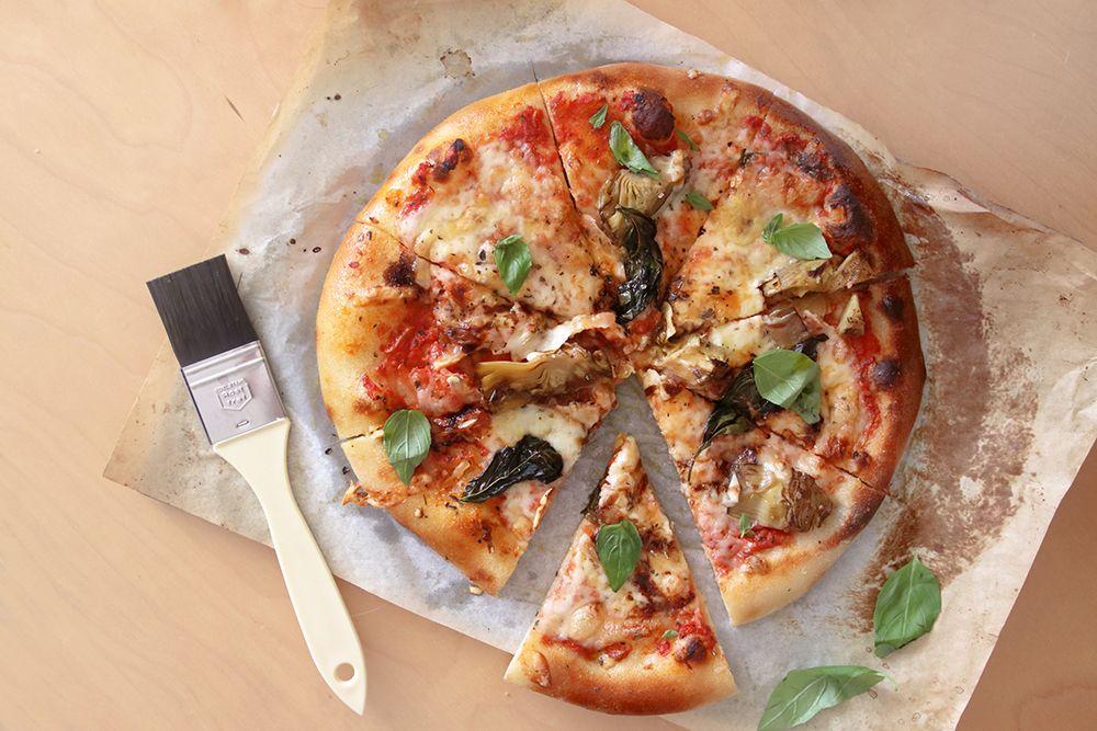 פיצה ביתית | צילום: נטלי לוין