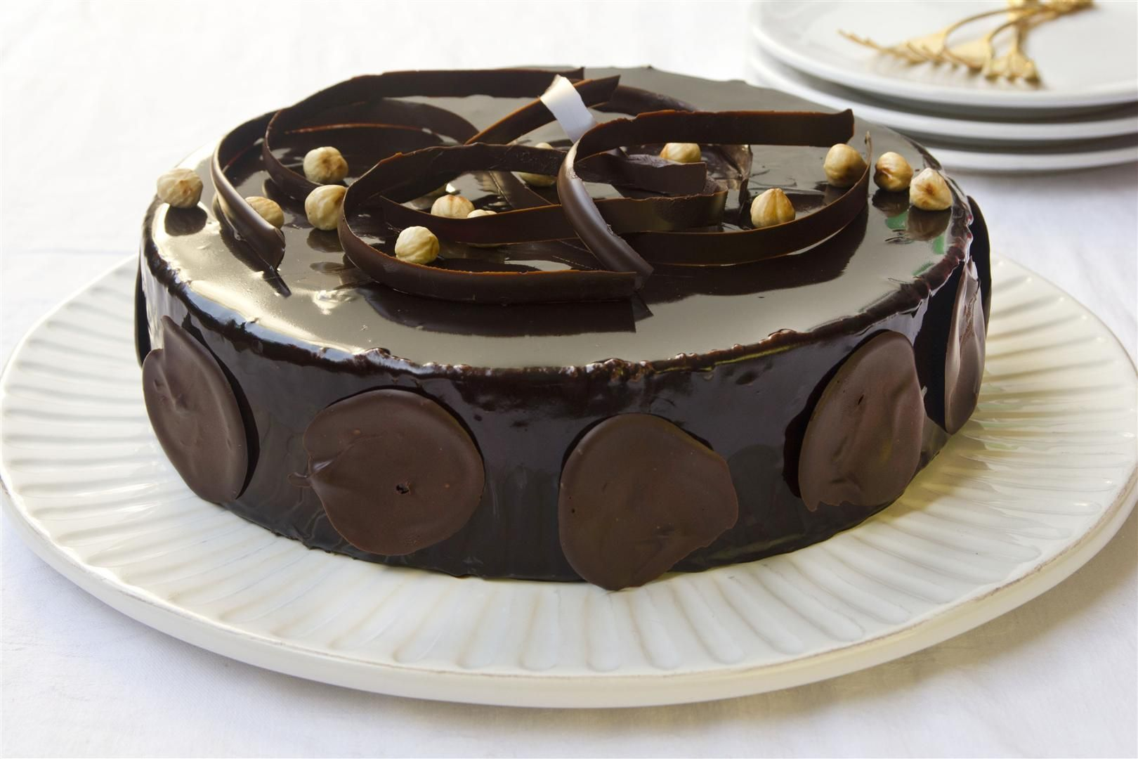 Coffee And Chocolate Mousse Cake