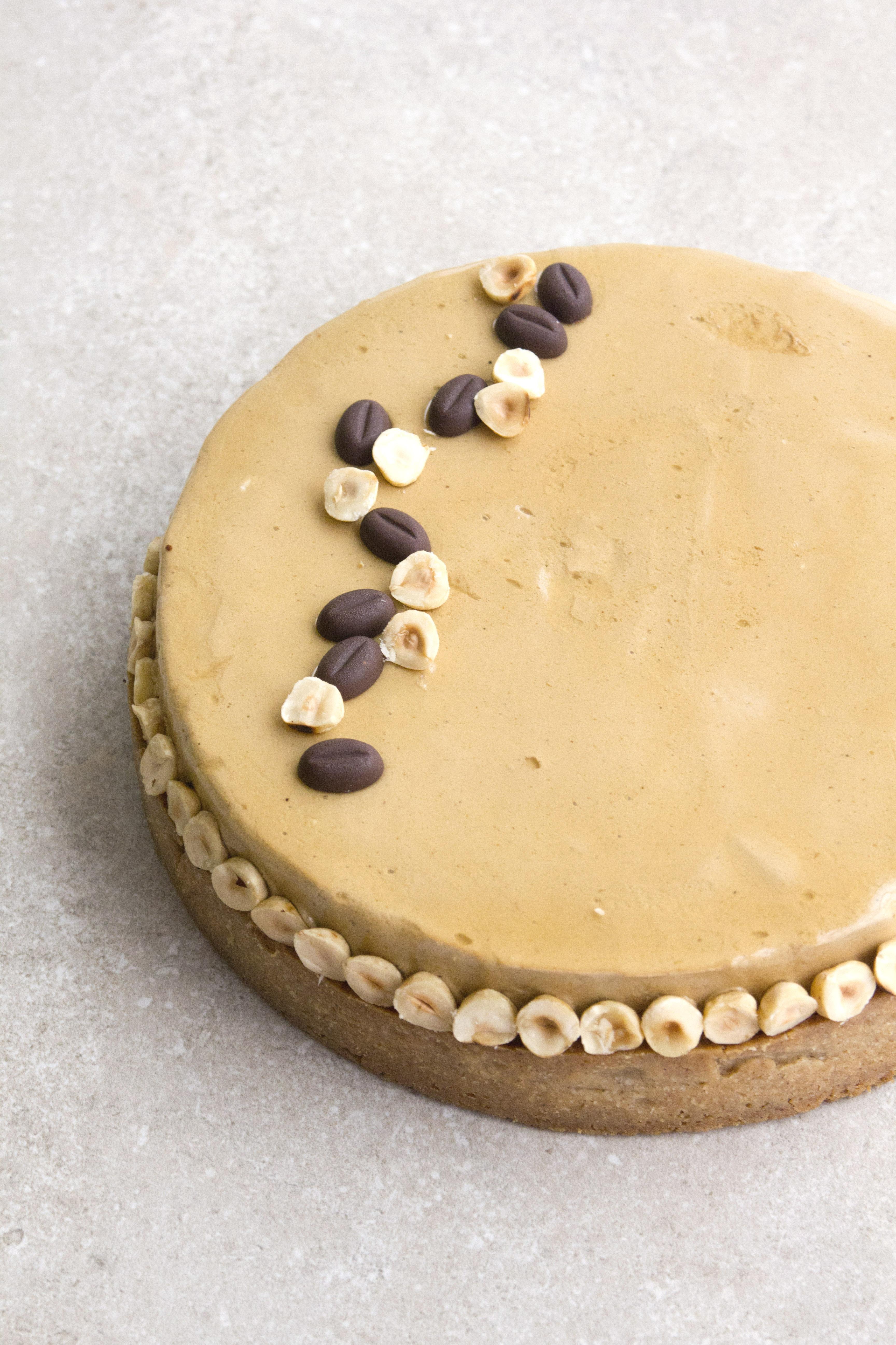 טארט קפה, אגוזי לוז ותבלינים