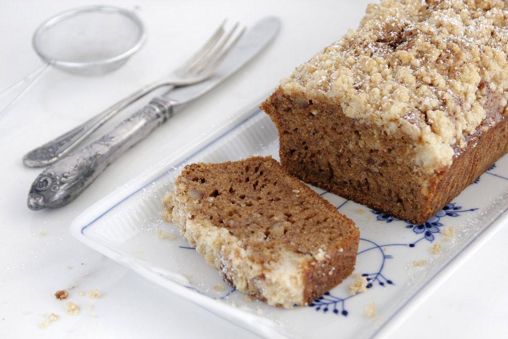 10 מתכונים לעוגות דבש: עוגת דבש עם פקאן וקפה