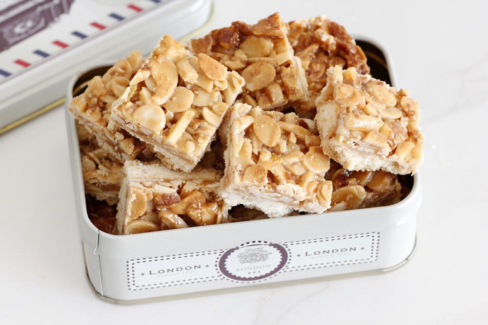 עוגיות פלורנטין שקדים ודבש