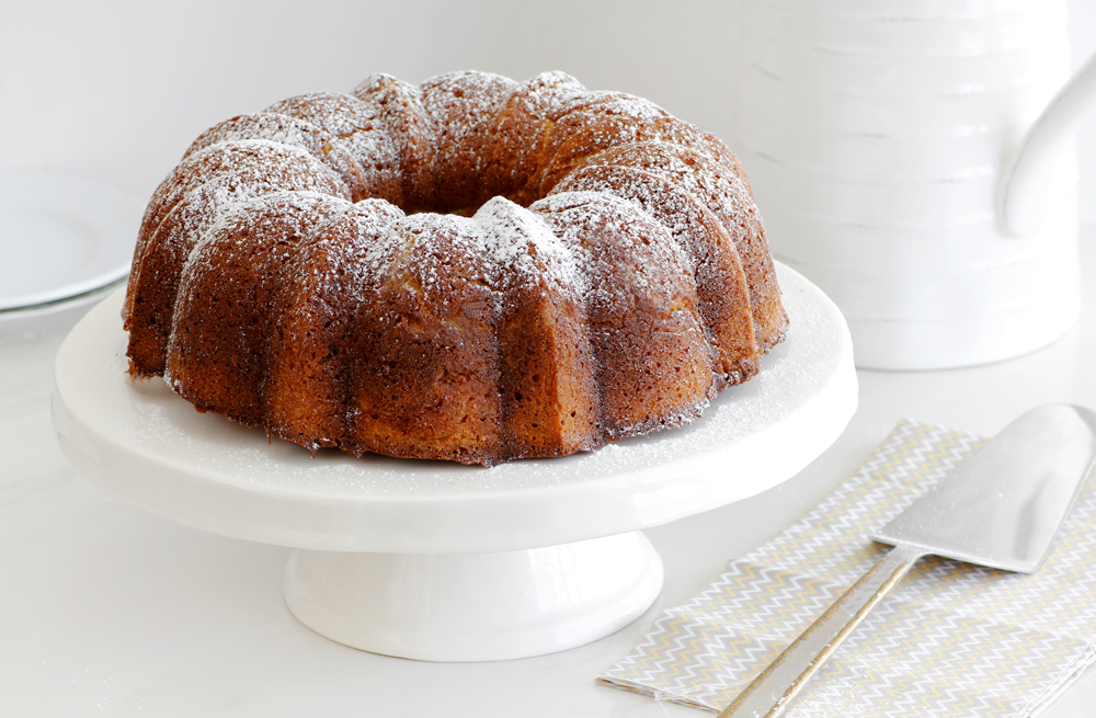 עוגת מייפל ופקאן