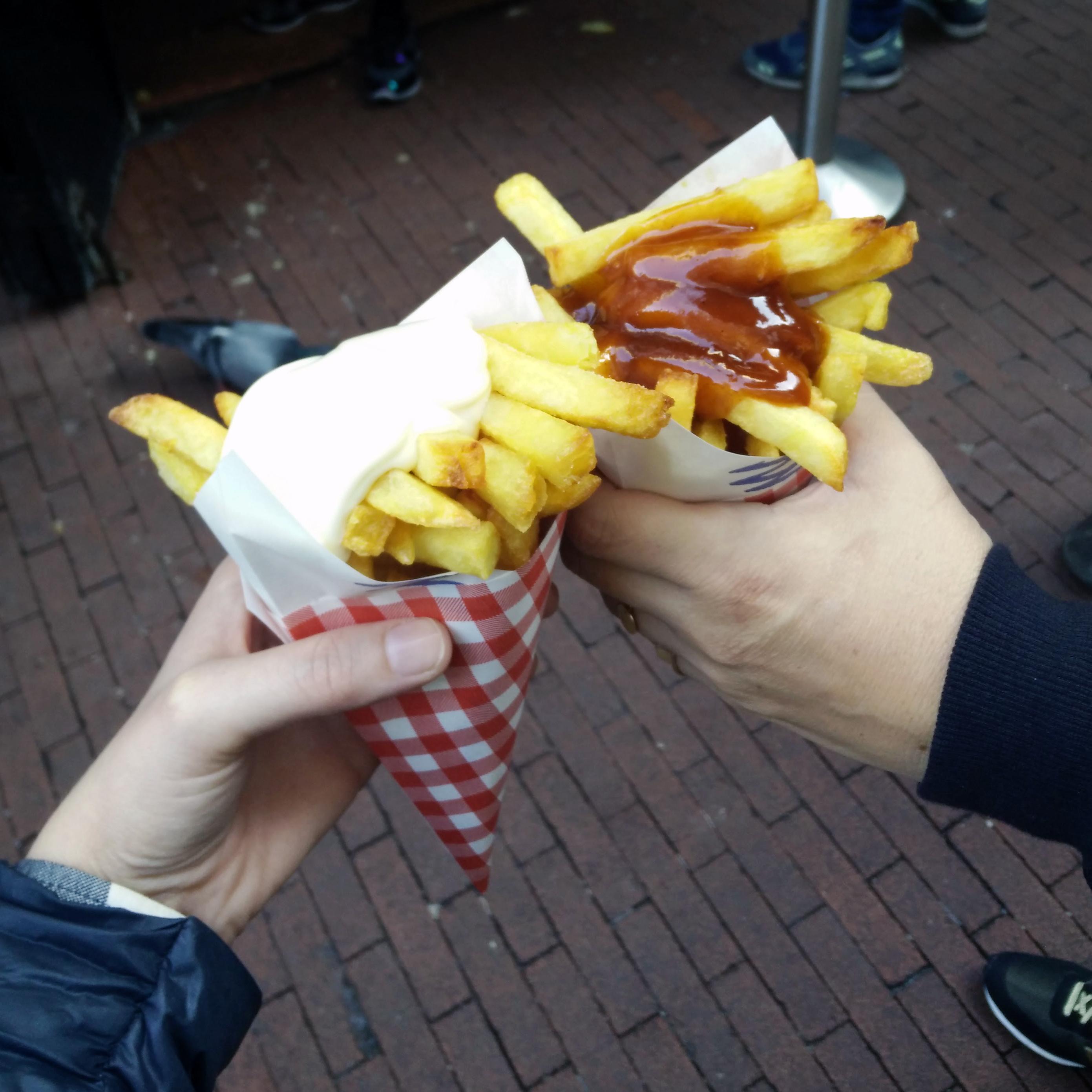 צ'יפס - Vlaams Friteshuis Vleminckx