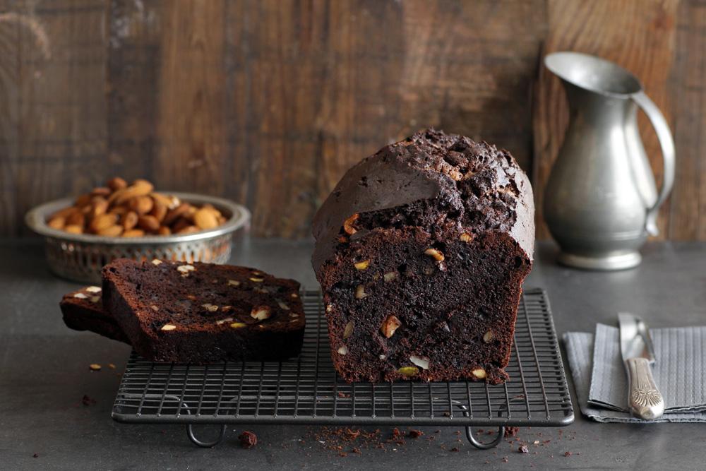עוגת שוקולד ואגוזים של פייר ארמה | צילום: נטלי לוין