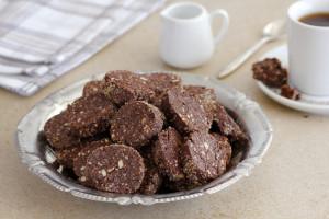 עוגיות חמאה, שוקולד ואגוזי לוז
