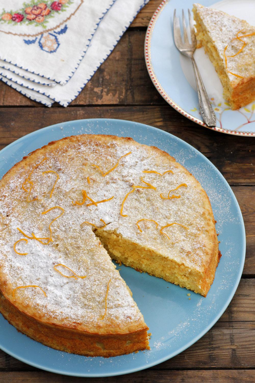 עוגת תפוזים וריקוטה
