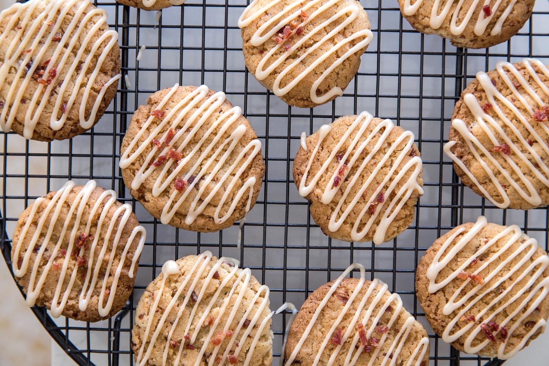 עוגיות מייפל ובייקון