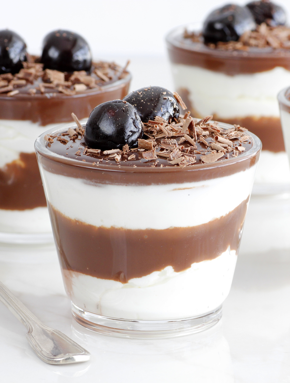 Chocolate Amarena Cherry Parfait