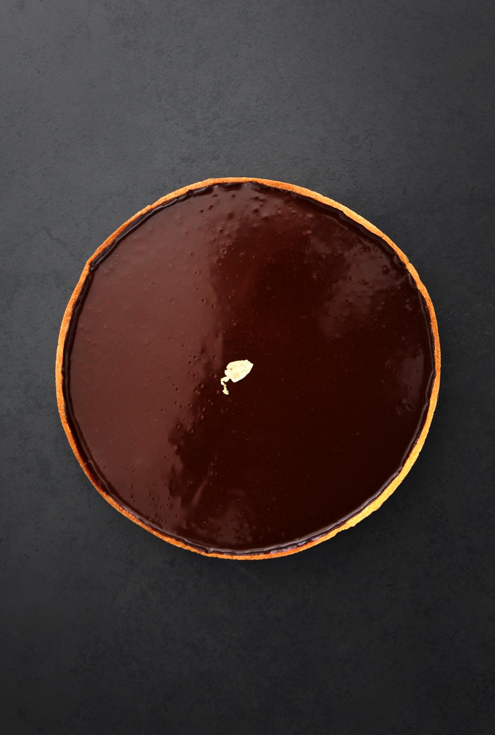 טארט שוקולד של ז'אק ז'נה