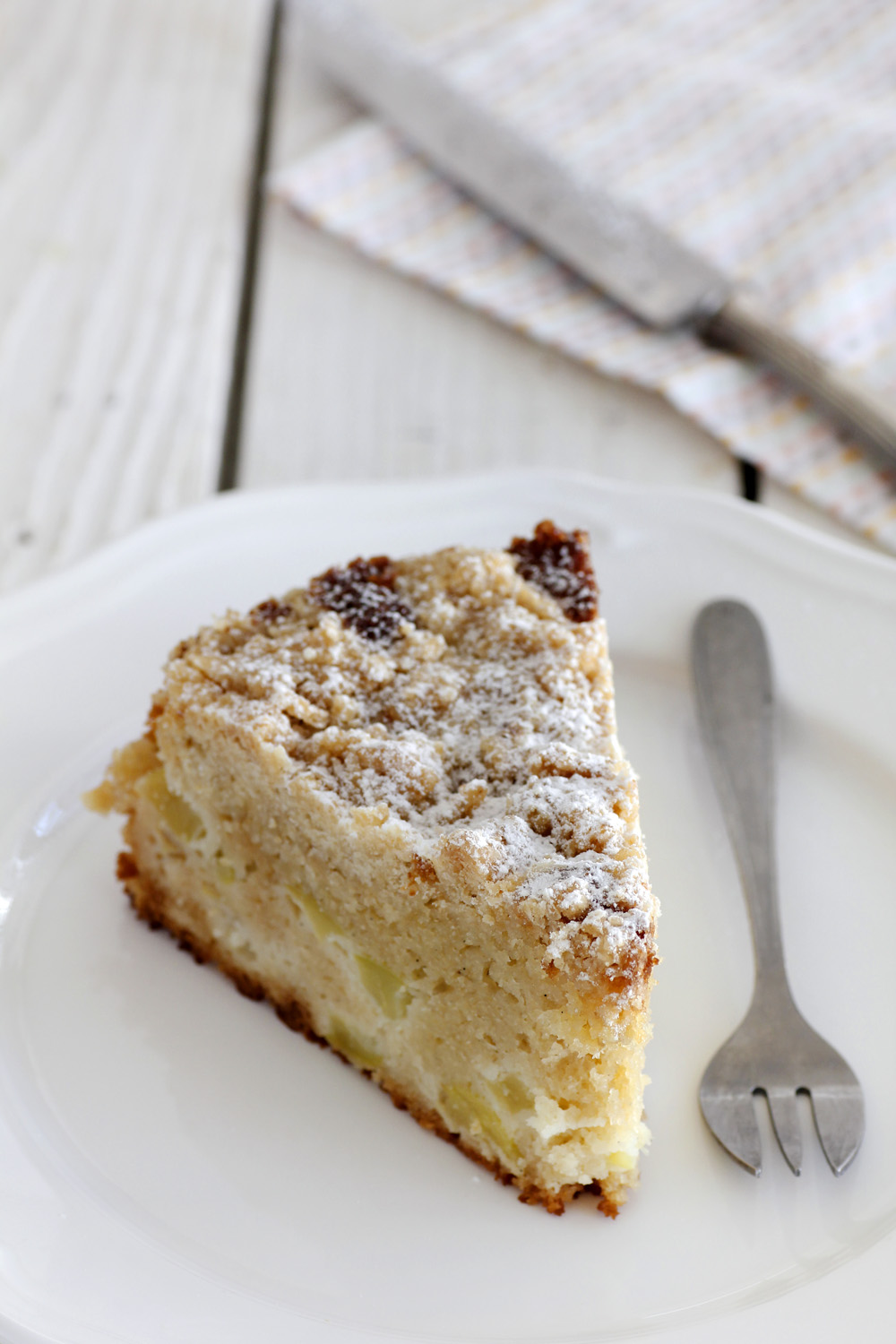 Apple Crumble Cake Lil Cookie
