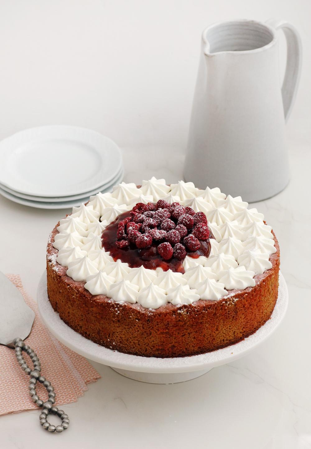 Nostalgic Savarine Cake