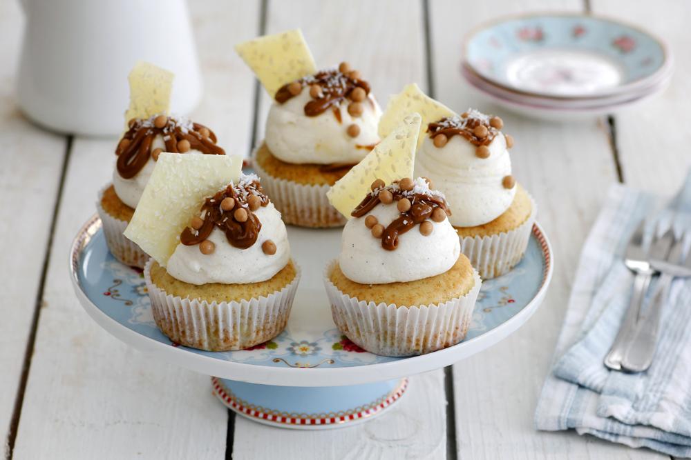 Alfajores Cupcakes