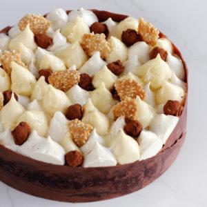 עוגת ארביקה קפה ושומשום