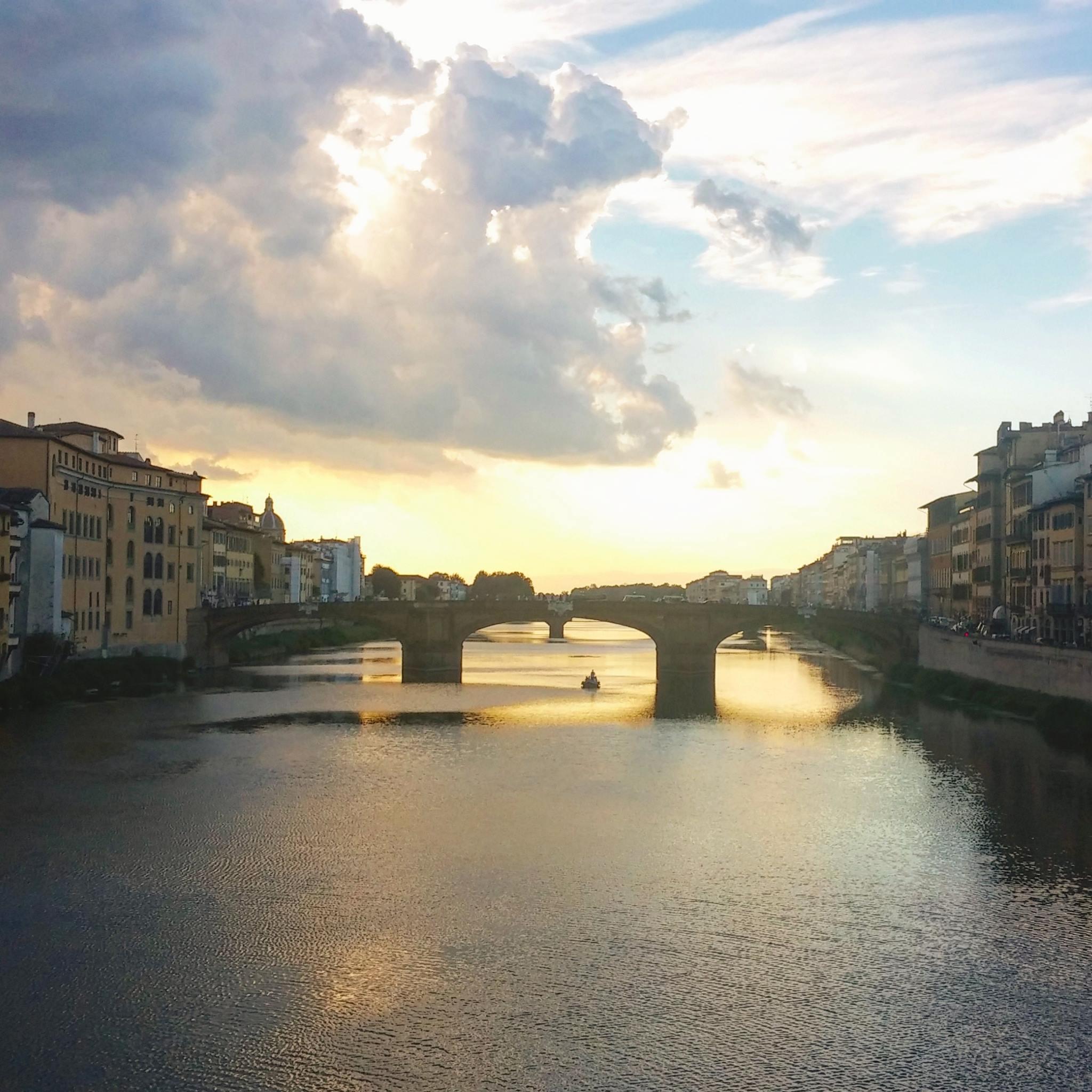 שקיעה בפירנצה