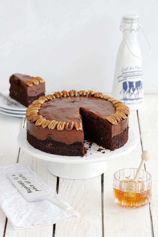 10 מתכונים לעוגות דבש: עוגת דבש ושוקולד