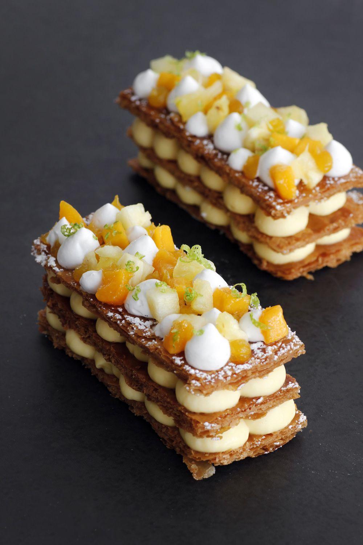 Mango Tart Cake