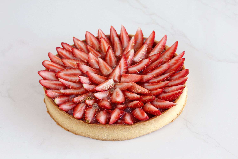 טארט תותים אקסטרה