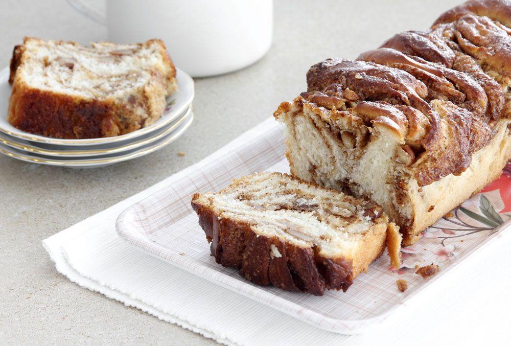 עוגת שמרים קינמון רכה ואוורירית