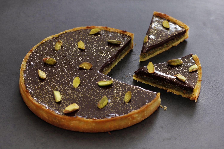 פאי שוקולד ופיסטוק