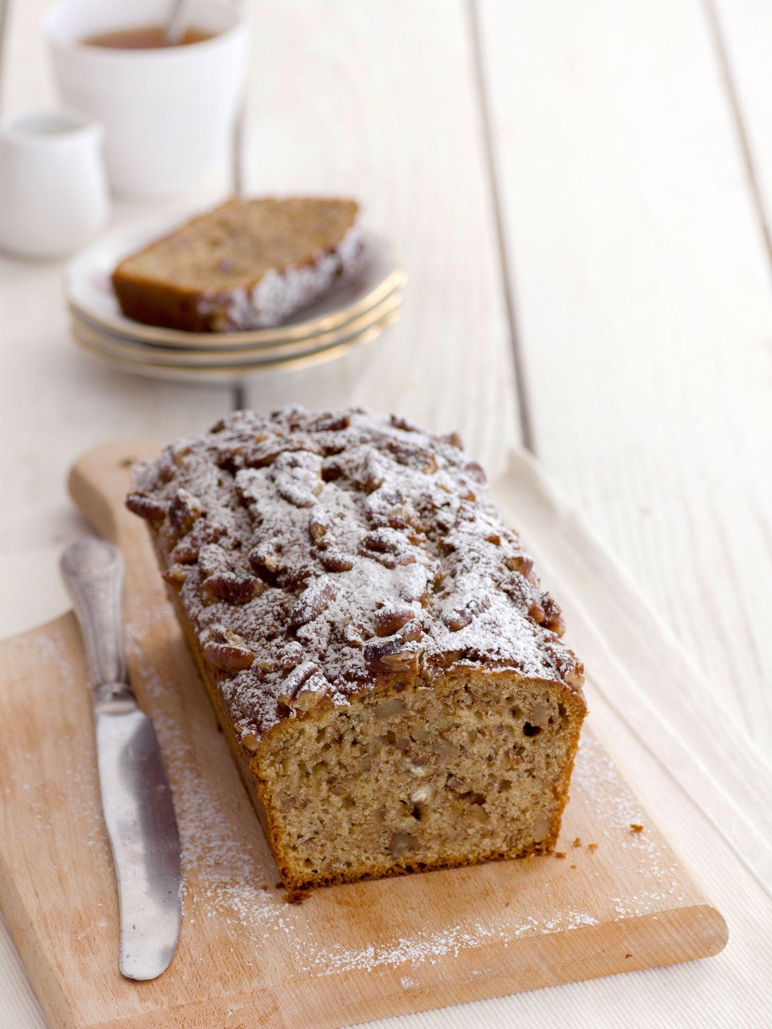 עוגת קפה ופקאן