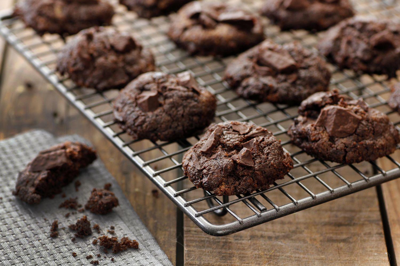 עוגיות שוקולד וטחינה ללא גלוטן