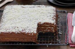 עוגת מצות קלאסית | צילום: נטלי לוין