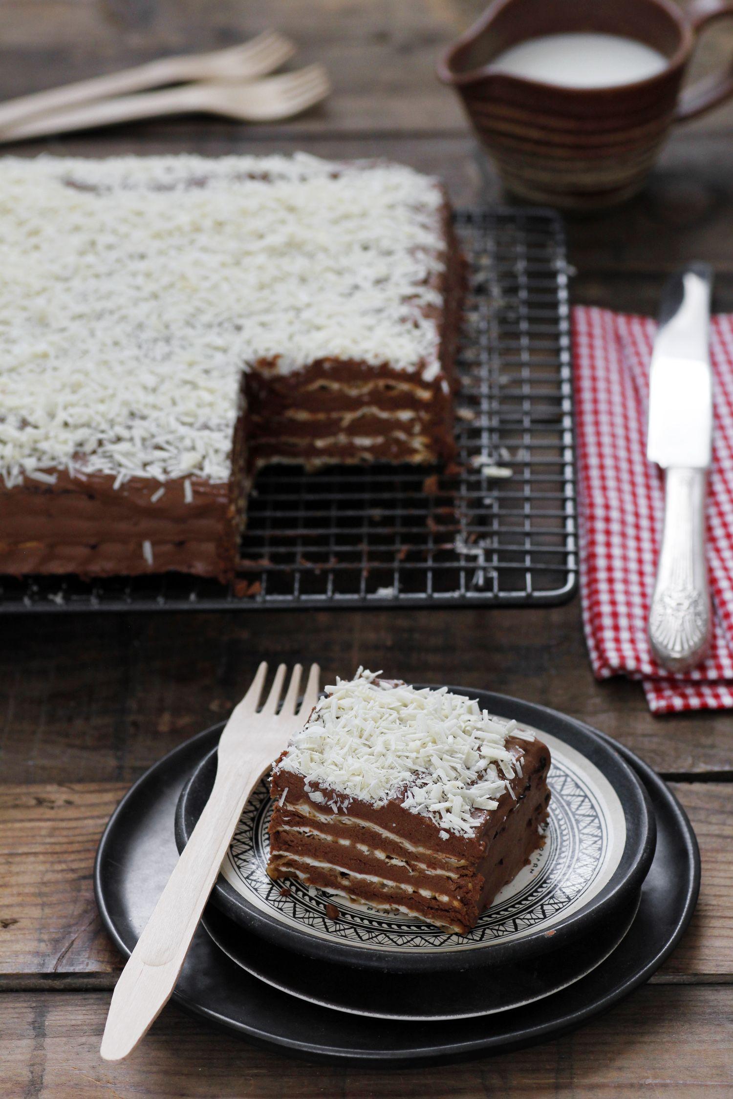 עוגת מצות קלאסית וטעימה