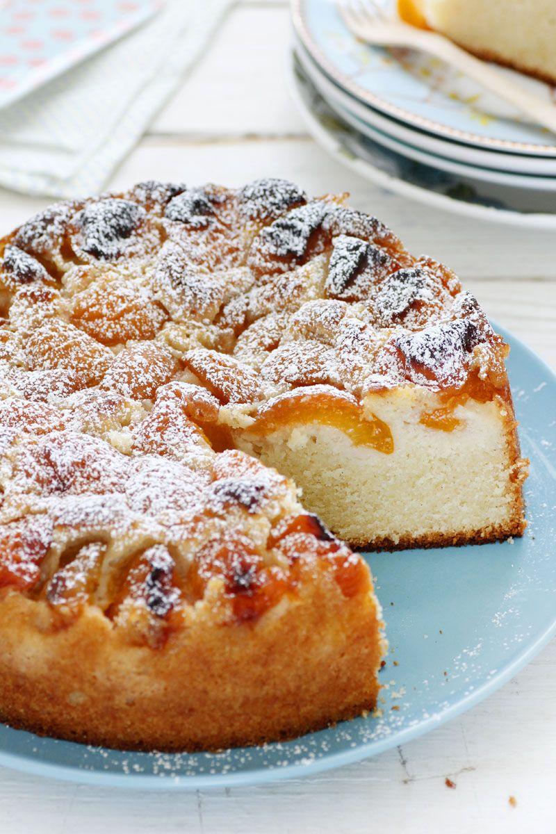 עוגת משמשים ומרציפן