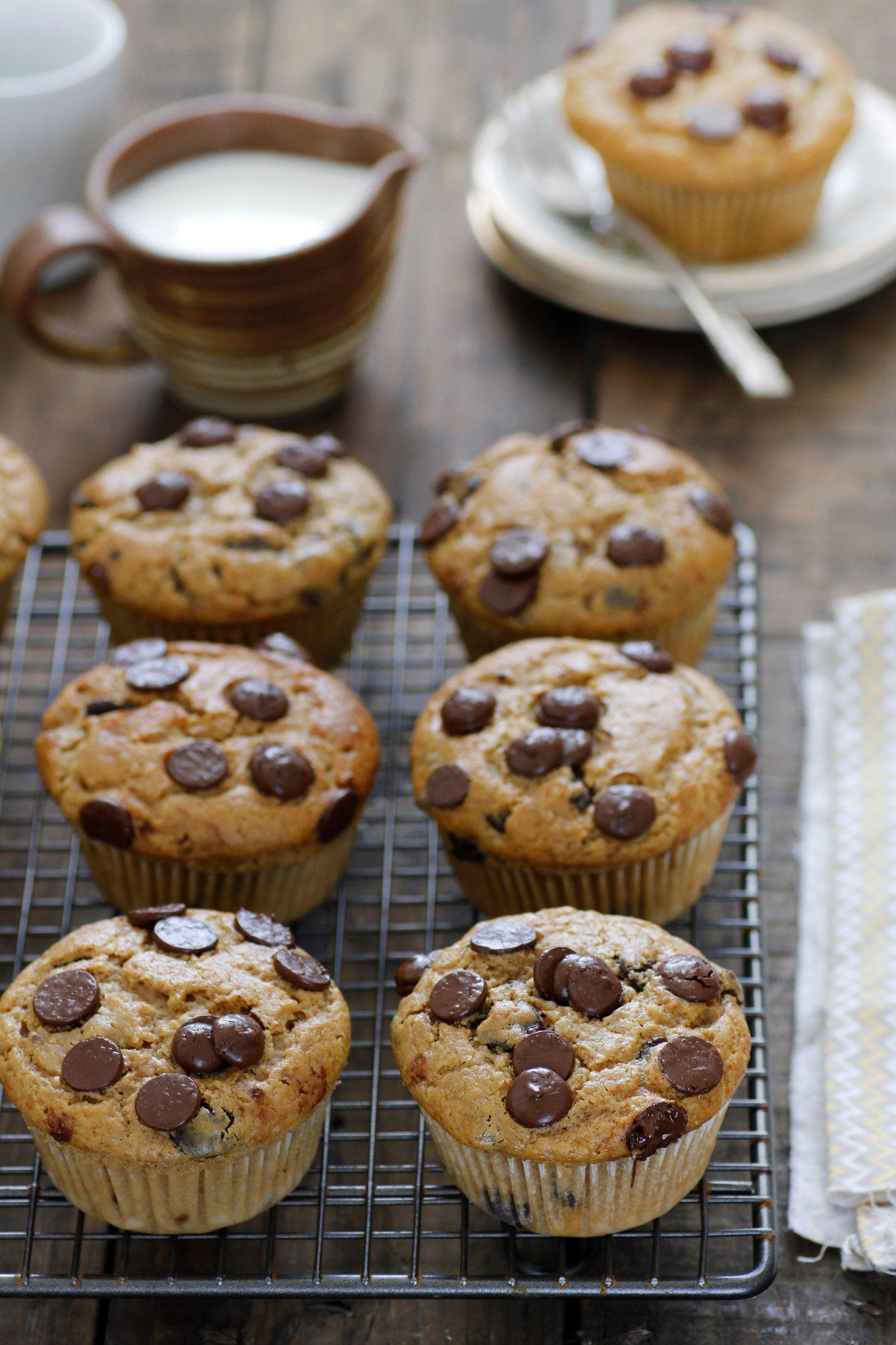 מאפינס שוקולד צ'יפס, קפה ונוגט