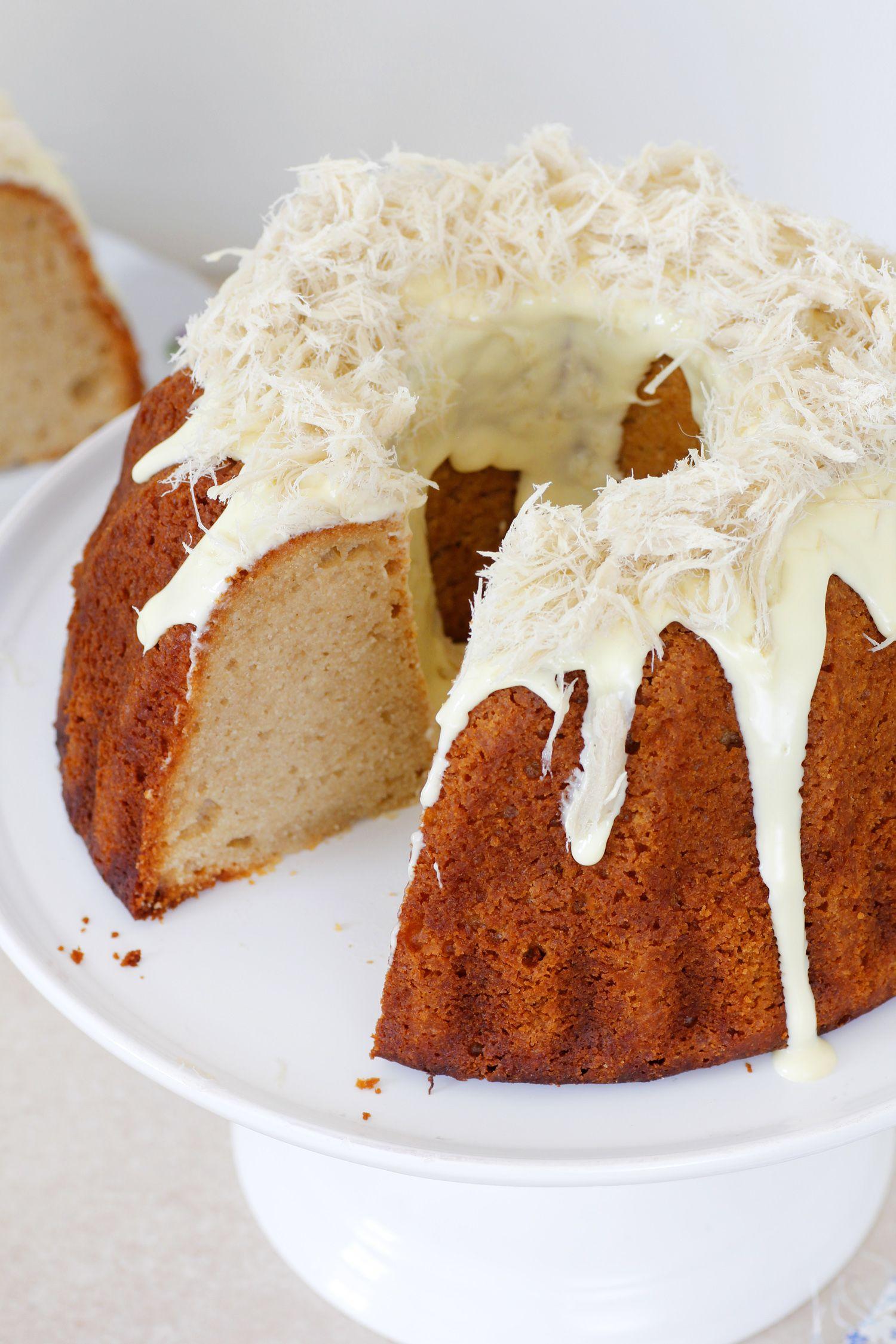 10 מתכונים לעוגות דבש: עוגת חלבה ודבש