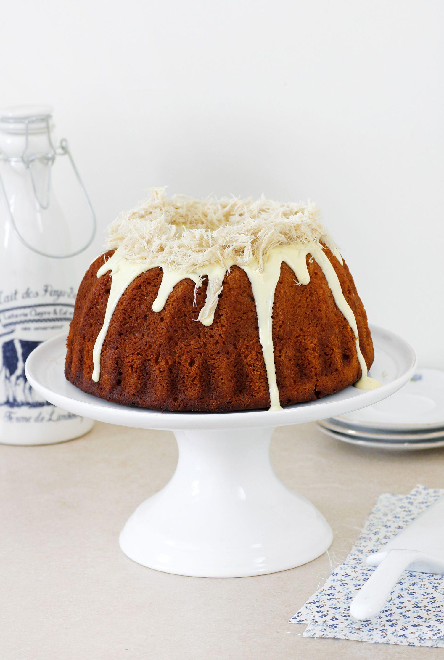 עוגת חלבה ודבש