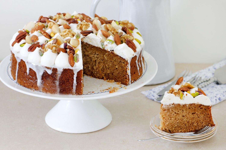 10 מתכונים לעוגות דבש: עוגת דבש עם ארל גריי ואגוזים