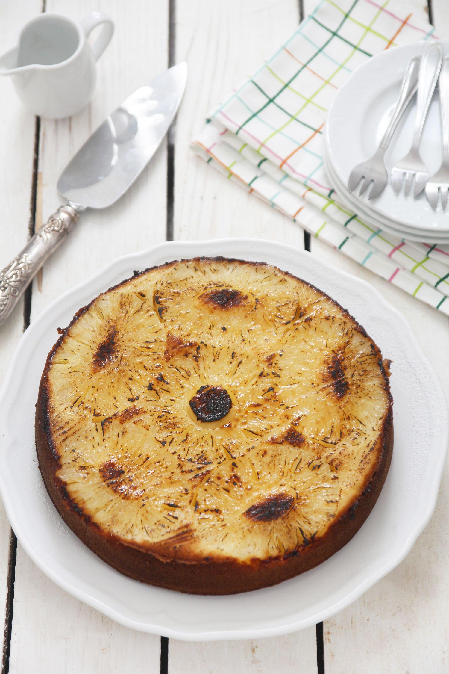 עוגת אננס הפוכה