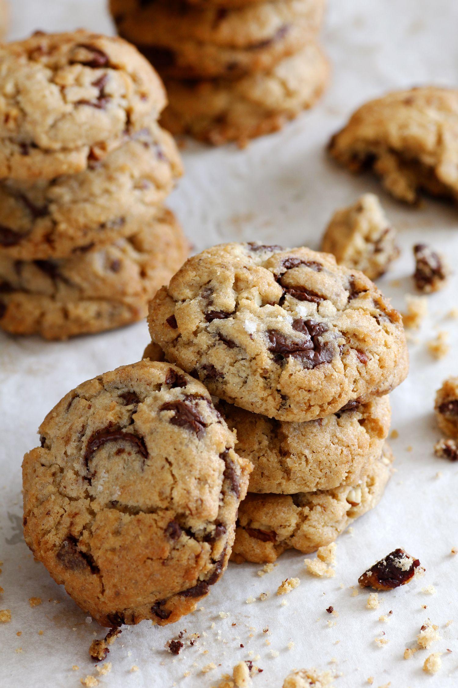 עוגיות שוקולד צ'יפס ופקאן מלוח