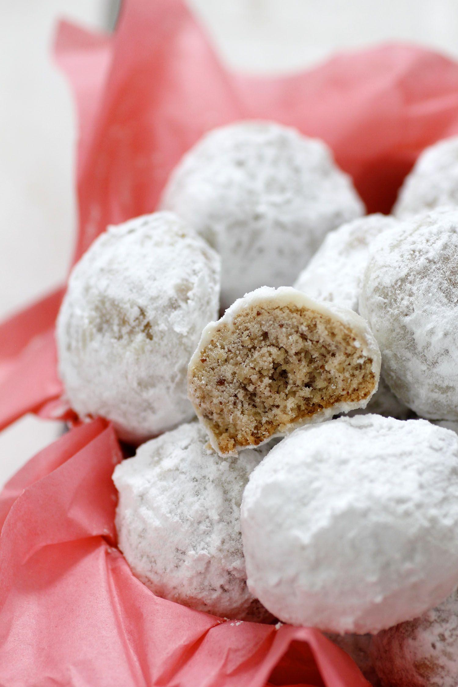 עוגיות פקאן מושלגות