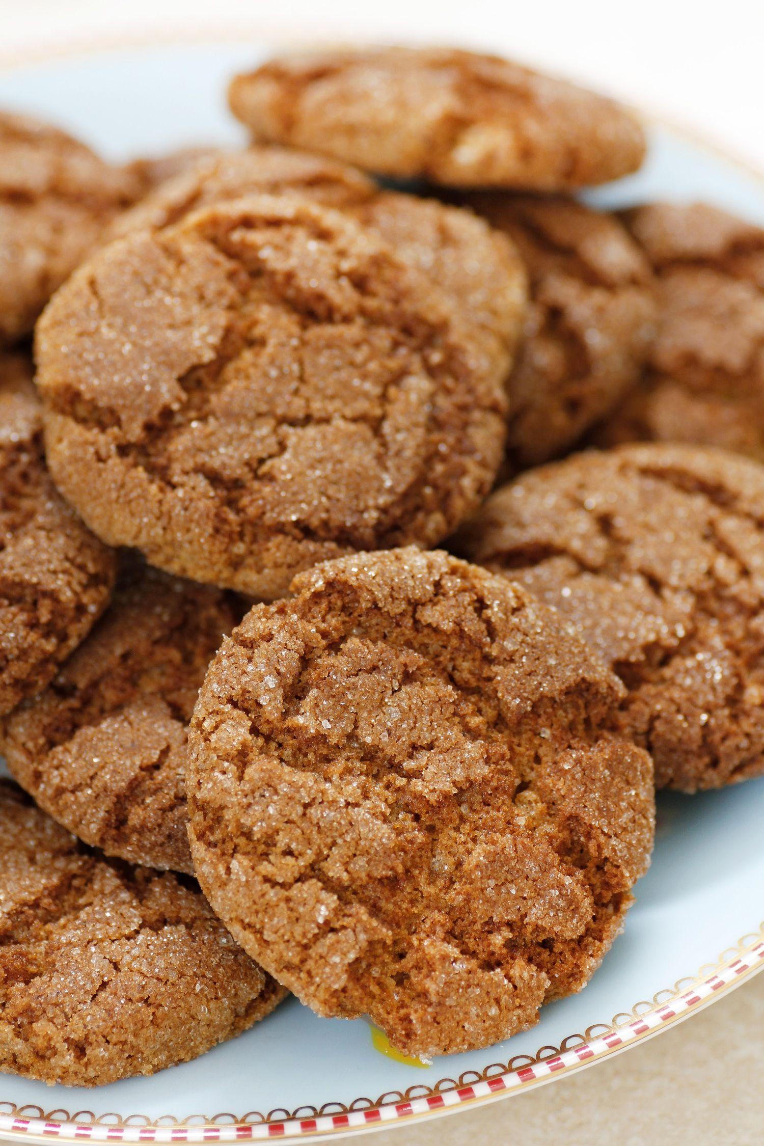 עוגיות ג'ינג'ר רכות