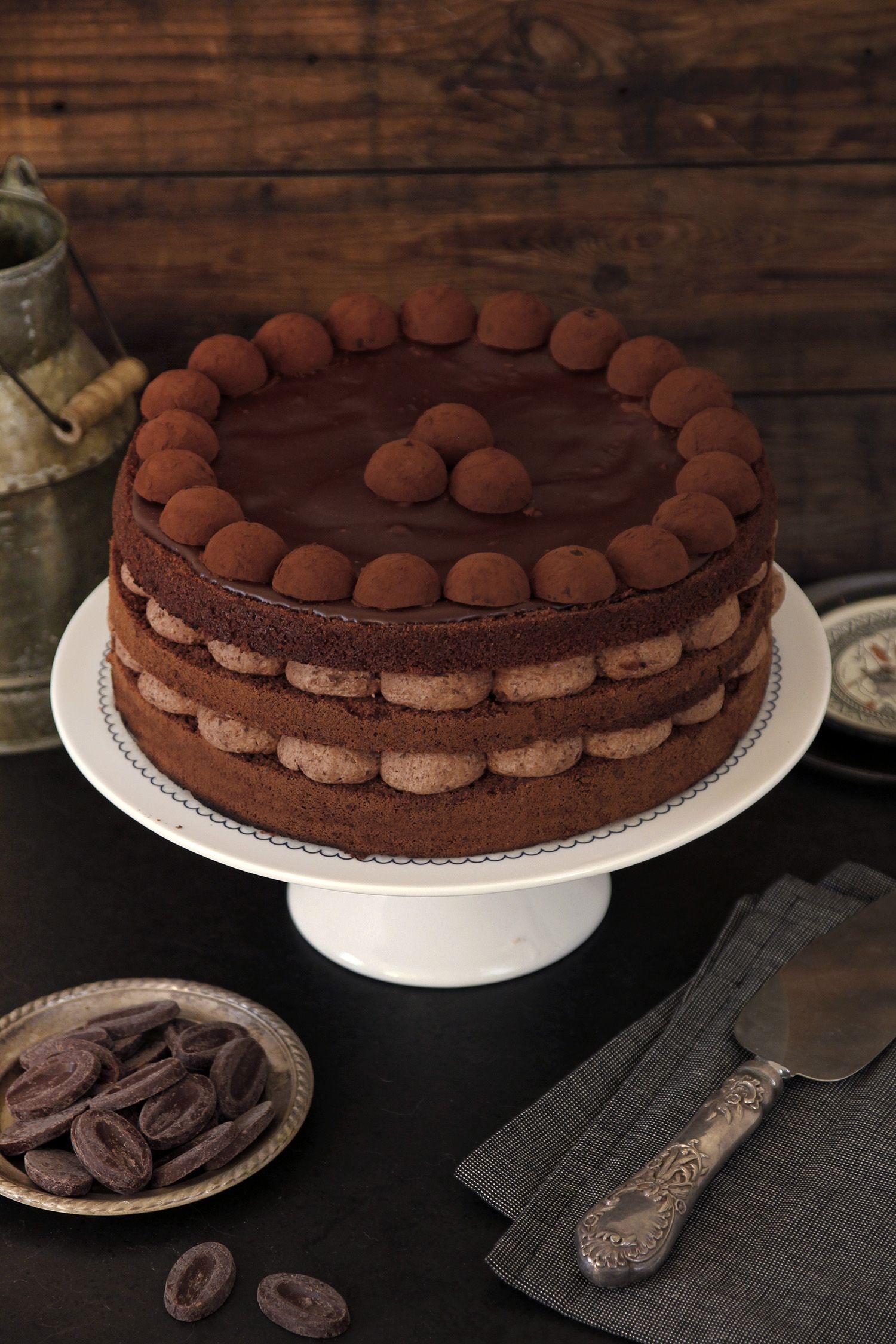עוגת שוקולד מושלמת ליום הולדת