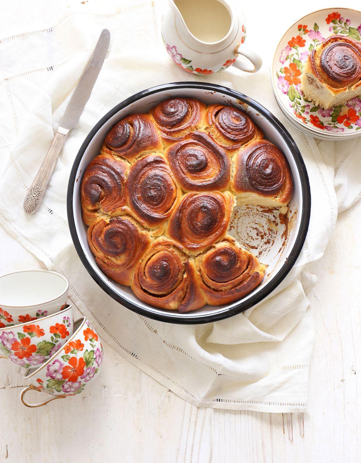 עוגת שושני גביניות קינמון | צילום: נטלי לוין