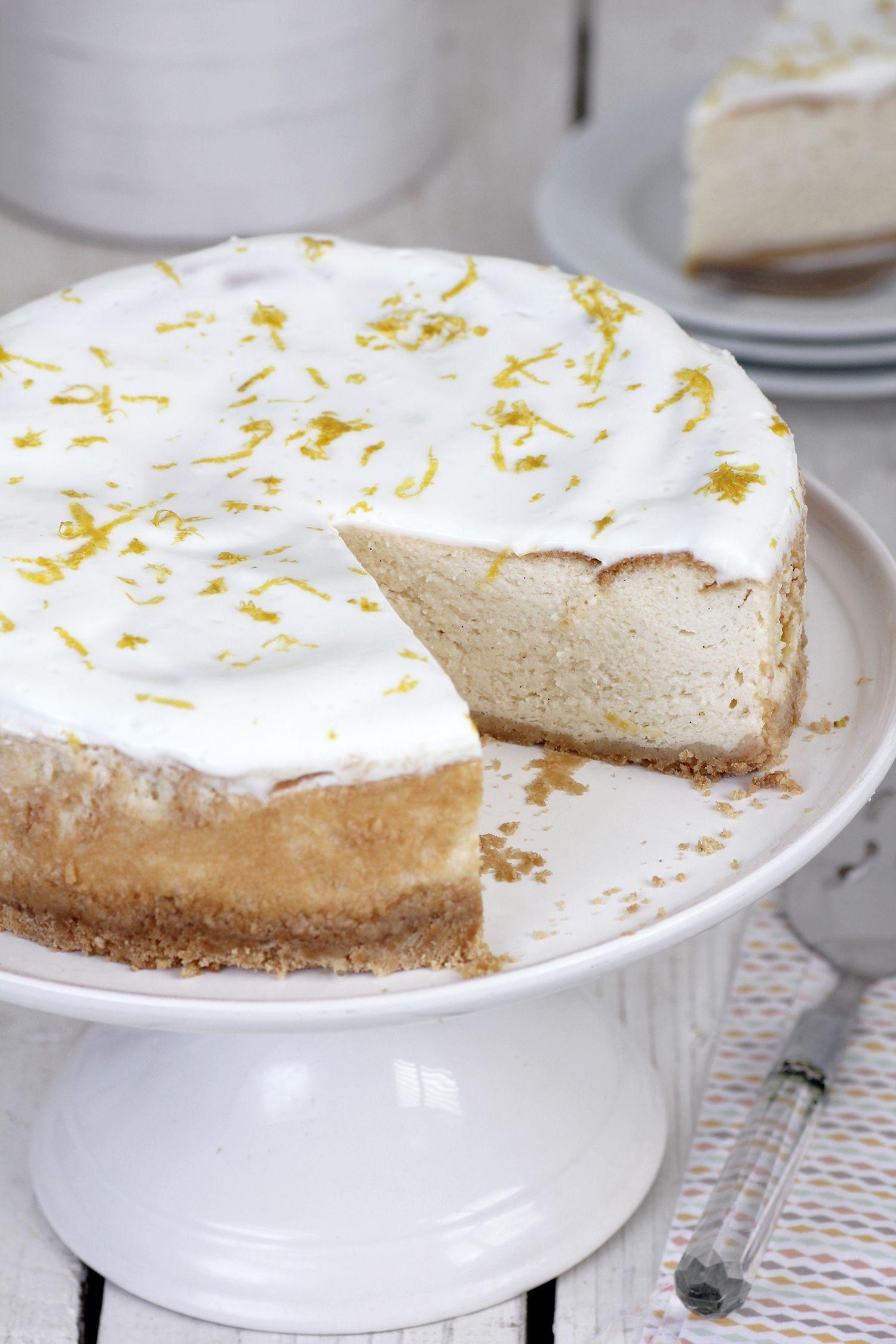 עוגת גבינה קלה עם יוגורט