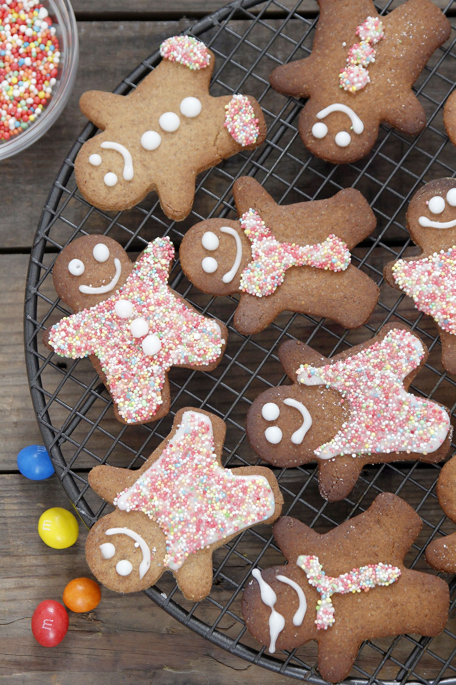 Snowmen Gingerbread Cookies