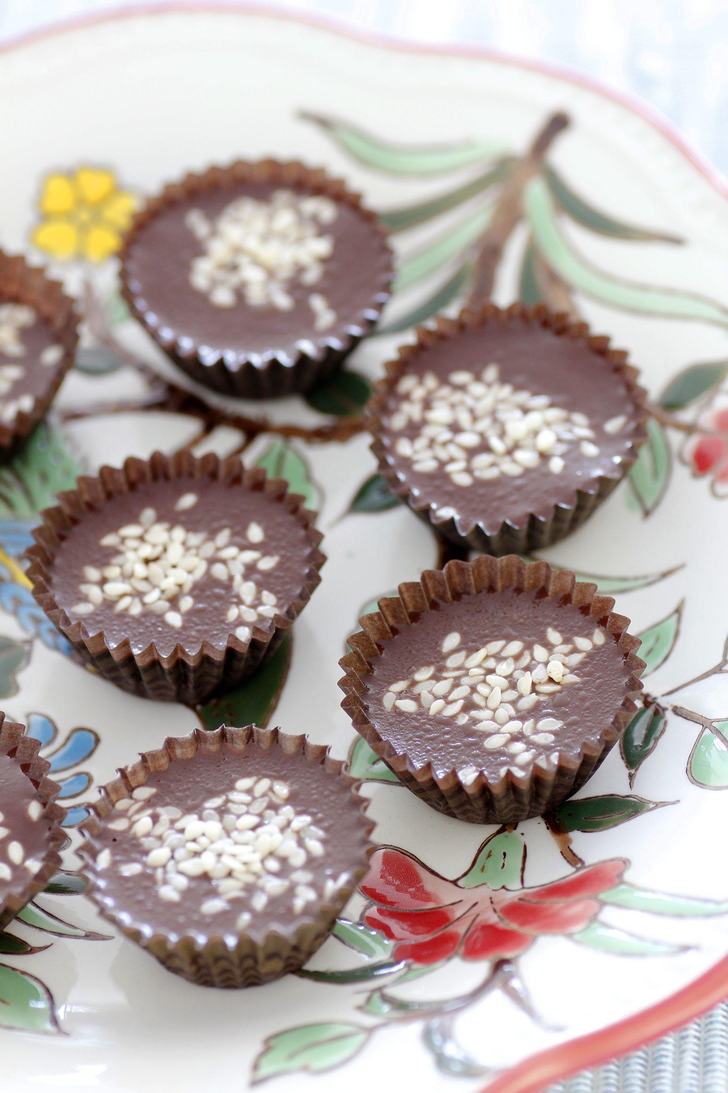 פאדג' שוקולד וטחינה