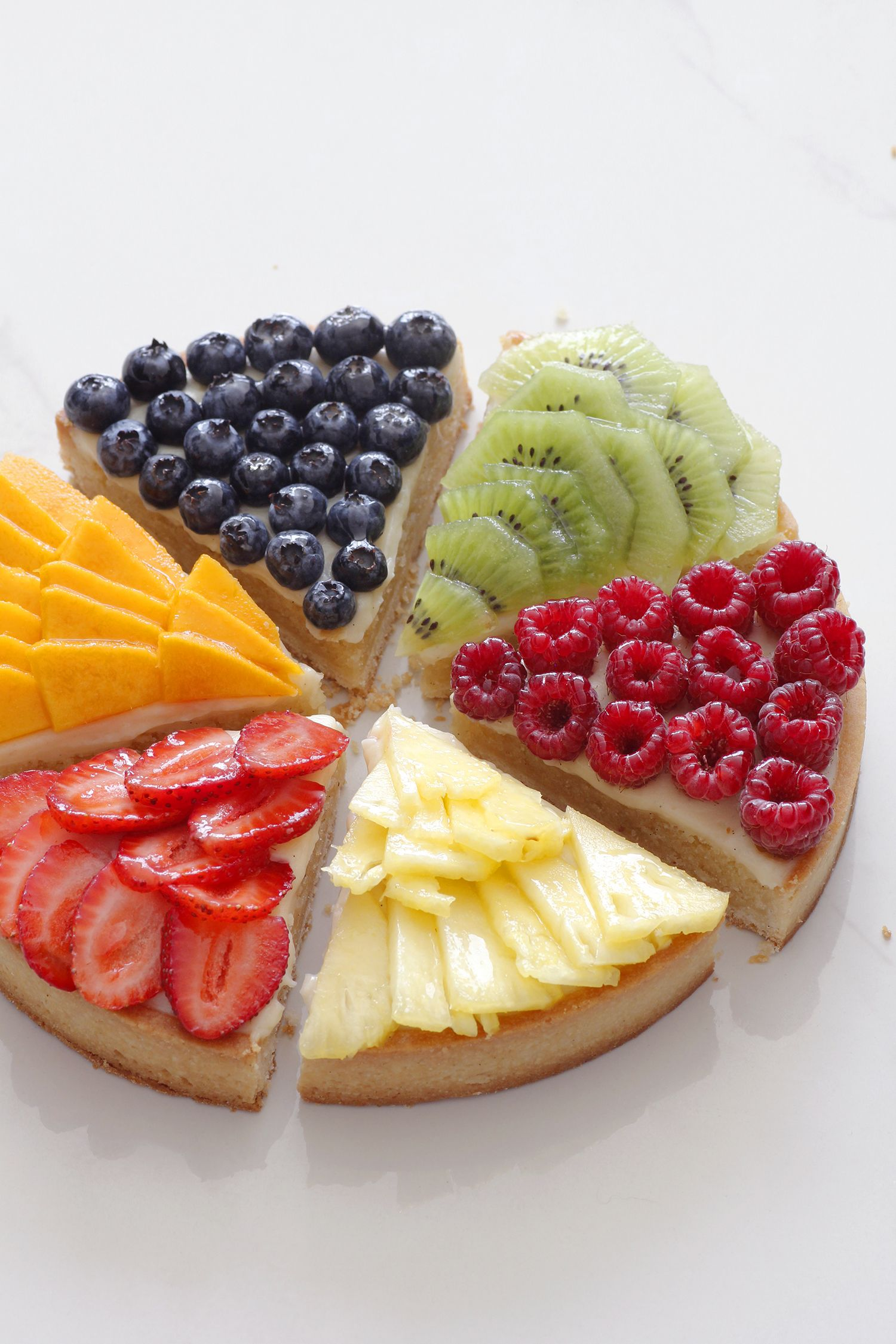 Modern Fruit Tart